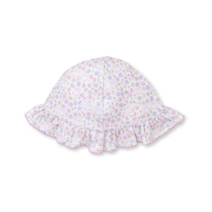 Kissy Kissy -Backyard Bunnies -Print Floppy Hat -Multi