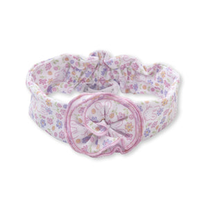 Kissy Kissy -Backyard Bunnies -Prnt Headband -Multi