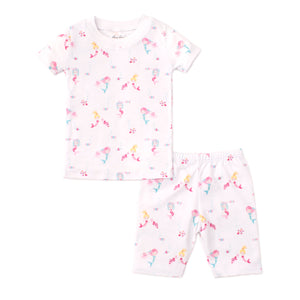 Kissy Kissy -Mermaid Glamour -Print Short PJ Set - Snug Fit -Pink