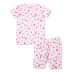 Kissy Kissy -PJs Aloha -Print Short PJ Set - Snug Fit -Pink