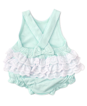 Kissy Kissy -Elegant Eyelet -Bubble -Mint