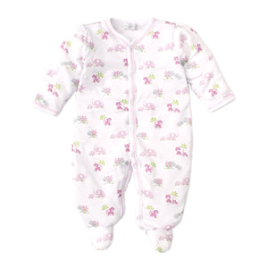 Kissy Kissy - Safari Siblings - Print Footie - Pink