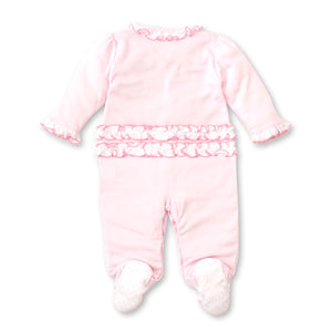 Kissy Kissy -Mermaid Glamour -Footie -Pink