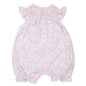 Kissy Kissy -Backyard Bunnies -Print Short Playsuit -Multi