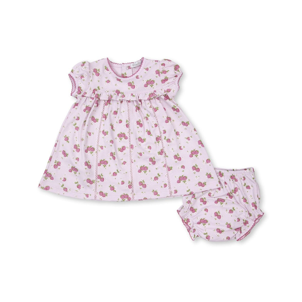 Kissy Kissy -Strawberry Soiree -Print Dress Set -Pink