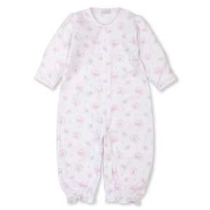 Kissy Kissy -Bunny Hugs -Print Converter Gown -Pink