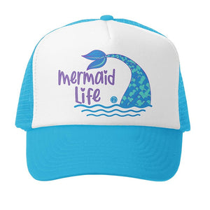 Grom Squad - Mermaid Life - Aqua White