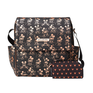 Petunia Pickle Bottom - Boxy Backpack - Metallic Mickey Mouse