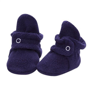 Zutano - Cozie Fleece Baby Bootie - True Navy
