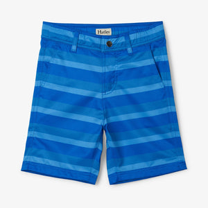 Hatley - Blue Stripe Quick Dry Shorts
