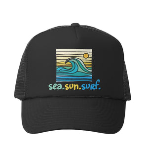 Grom Squad - Sea Sun Surf - Black