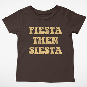 Tiny Whales - Fiesta Then Siesta Short Sleeve Tee - Vintage Black
