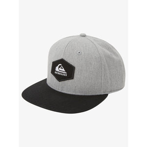 Quiksilver - Swivells Snapback Hat for Boys - Light Heather Grey
