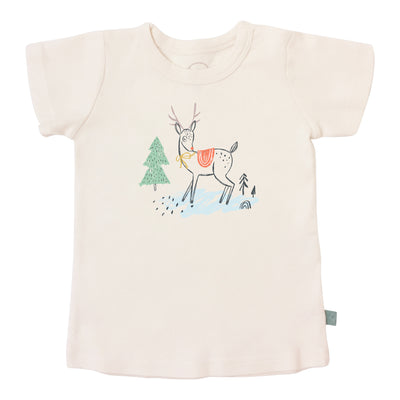 Christmas Deer | Short sleeve graphic tee