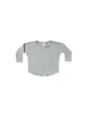 LONGSLEEVE BABY TEE | DUSTY BLUE