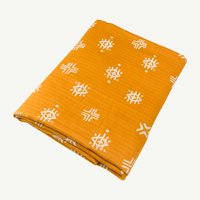 Aztec Swaddle - Gold