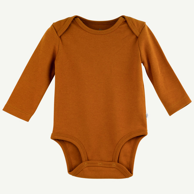 Bodysuit | copper pima cotton
