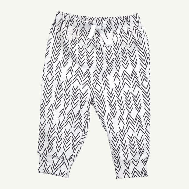 Gray Arrow Print Pant