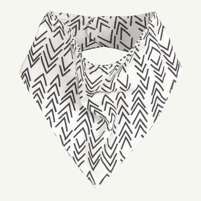 Bandana Bib | Gray Arrow