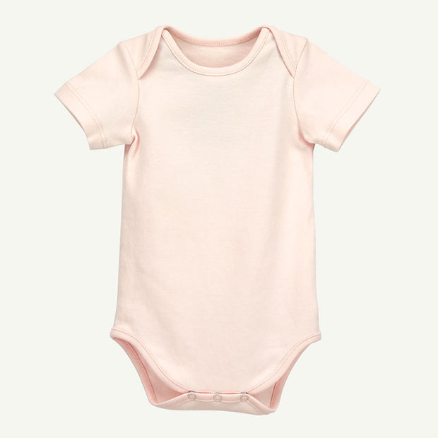 Pima Cotton Bodysuit Short Sleeve