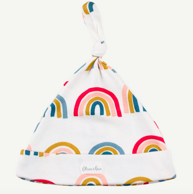 Rainbow Print Pima Cotton Cap
