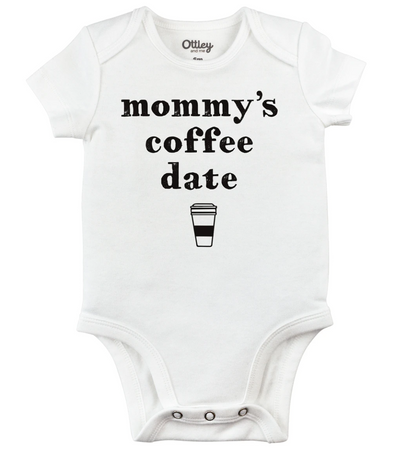 Mommy's Coffee Date Onesie