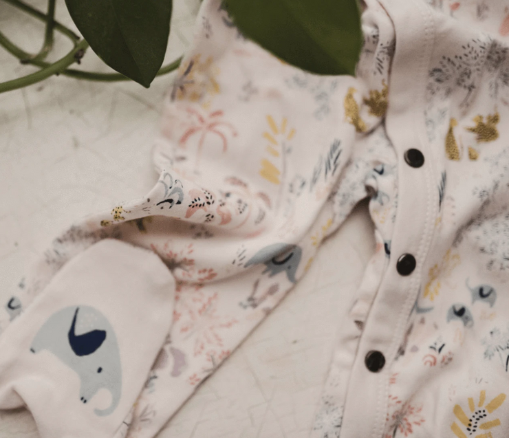 Footie | Savanna floral print
