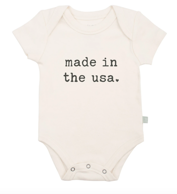 Made in the USA bodysuit