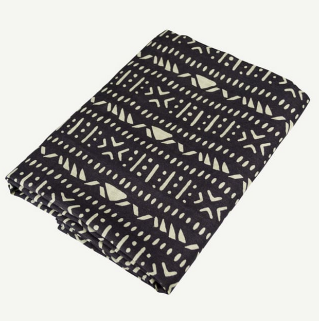 Aztec Swaddle - Charcoal
