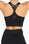 Black Essentials Sports Bra