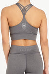 Charcoal Essentials Sports Bra