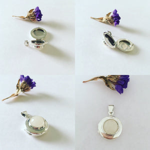 Breast Milk Keepsake Locket