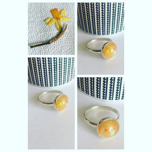 "Our "" Etna"" keepsake ring"