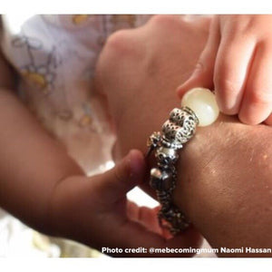 Breast milk European charm bead - Fits many charm bracelets