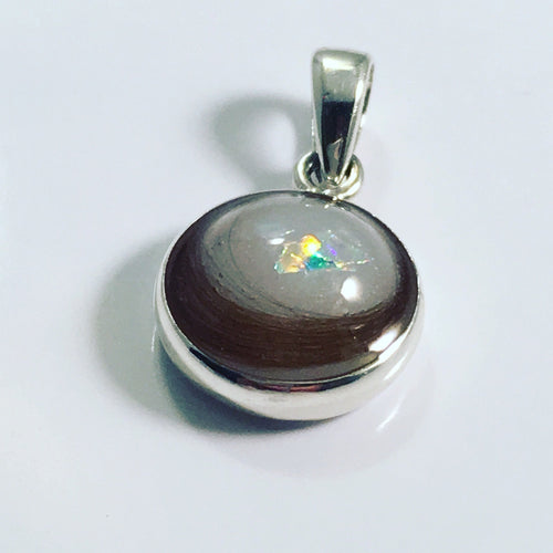 Mini keepsake charm / pendent (lock of hair, ashes, breastmilk or flowers)