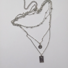 Load image into Gallery viewer, Silver Sanura chain necklace (free gift box)