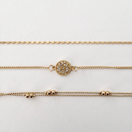 Gold Julie Bracelet (Free gift bag)