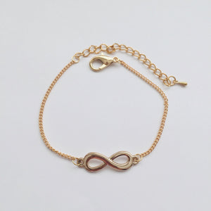 Gold Infinity anklet (free gift bag!)