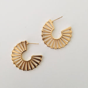 Katina gold earrings