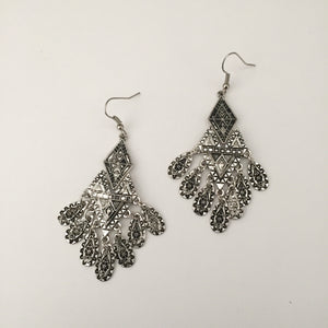 Sophie silver earrings