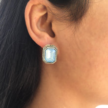 Load image into Gallery viewer, Alexa blue earrings
