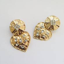 Load image into Gallery viewer, Jazz gold earrings