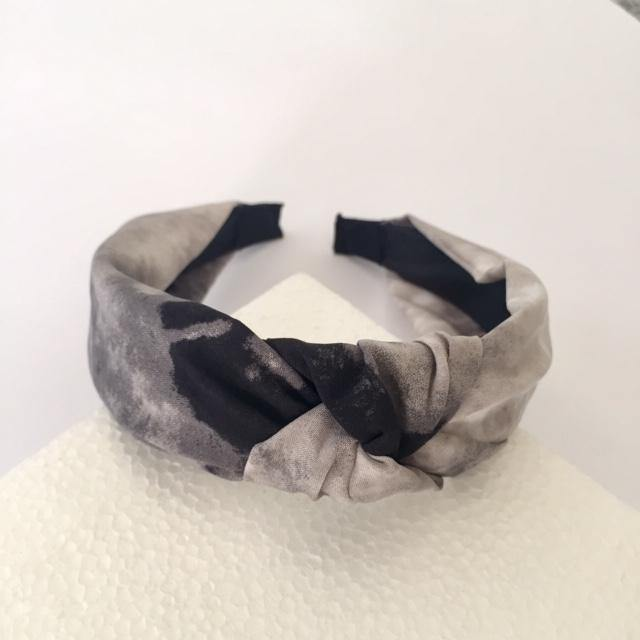 Grey Tie Dye Alice Band