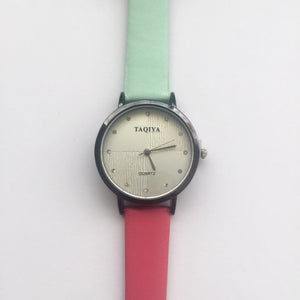 Sushi watch (free gift box & extra watch battery)
