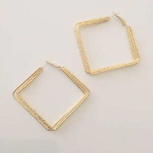 Elaine gold earrings