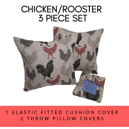 CHICKEN/ROOSTER 3 PIECE SET