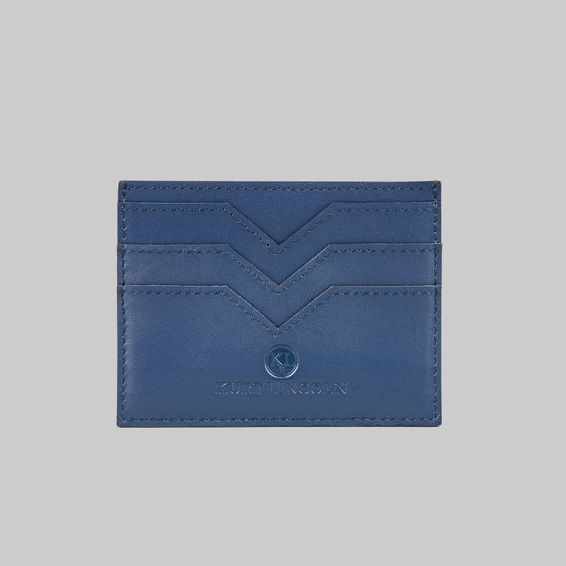 Navy card holder