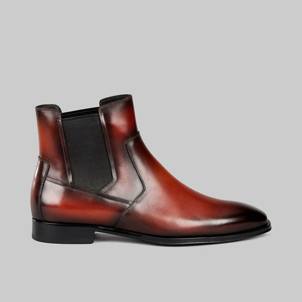 Lincoln exec one Chelsea boot.