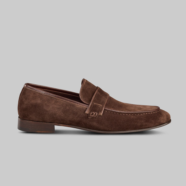 edward suede loafer