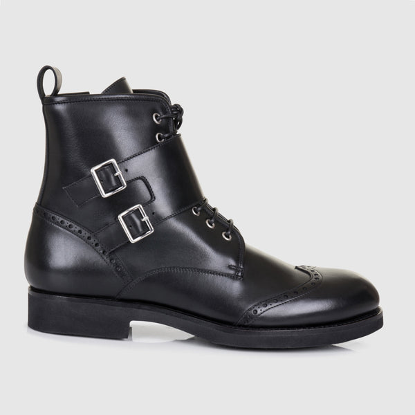 DOUBLE BUCKLE BOOTS - official website - shoes and accessories
